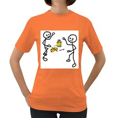 Figthing For Their Colors Womens' T Shirt (colored)