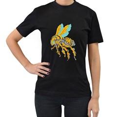 Bumblebot Womens' T Shirt (black)