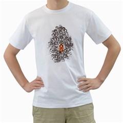 Urban Jungle Mens  T Shirt (white)