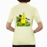 polytimus  Womens  T-shirt (Yellow) Back