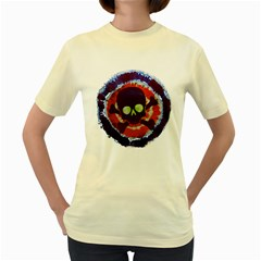 Dyeing is a part of life  Womens  T-shirt (Yellow)
