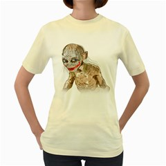 Why So Precious?  Womens  T-shirt (Yellow)