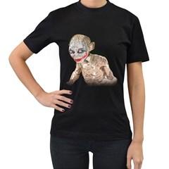 Why So Precious? Womens' Two Sided T-shirt (Black)