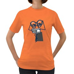 reading glasses Womens' T-shirt (Colored)