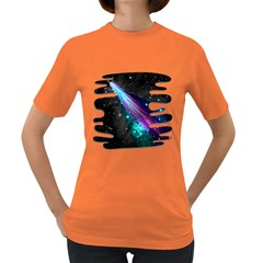//// Paint The Sky Womens' T Shirt (colored)