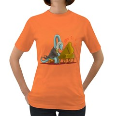 BACHiosaurus Womens' T-shirt (Colored)