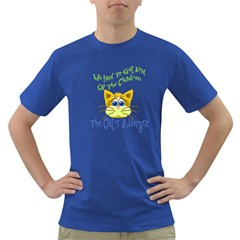 We Had To Get Rid Of The Children The Cats Allergic Mens' T Shirt (colored)