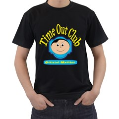 Time Out Club Mens' T Shirt (black)