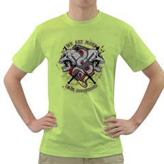 We Are More Mens  T-shirt (Green)