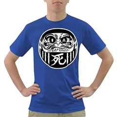 Dark Daruma Mens' T-shirt (Colored)