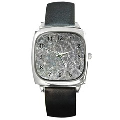 Ripples Square Leather Watch