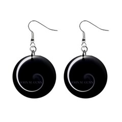 Glabel1 Mini Button Earrings