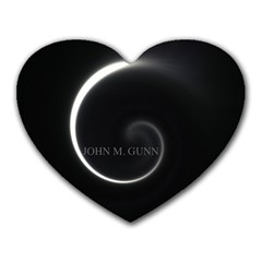 Glabel1 Mouse Pad (Heart)