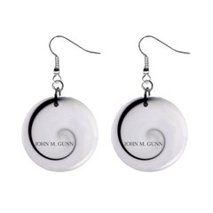Glabel1b Mini Button Earrings