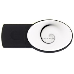 Glabel1b 4gb Usb Flash Drive (oval)