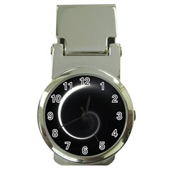 Glabel1a Money Clip with Watch