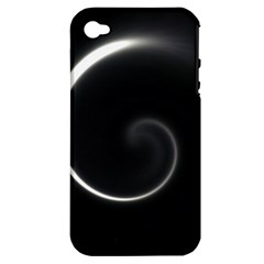 Glabel1a Apple iPhone 4/4S Hardshell Case (PC+Silicone)