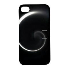 Glabel1a Apple iPhone 4/4S Hardshell Case with Stand
