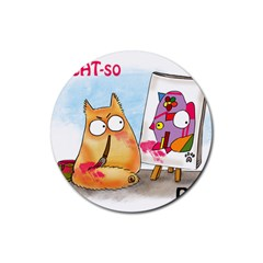 PookieCat - Picatso  Drink Coasters 4 Pack (Round)
