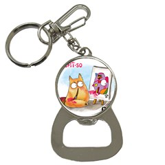PookieCat - Picatso  Bottle Opener Key Chain