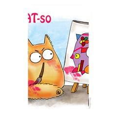 Pookiecat   Picatso  Memory Card Reader (rectangular)