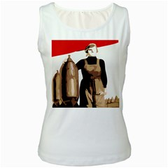 Power  to the masses Women s Tank Top