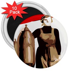 Power  to the masses 3  Magnet (10 pack)
