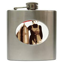 Power  To The Masses Hip Flask (6 Oz)