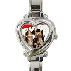 Power  to the masses Heart Italian Charm Watch