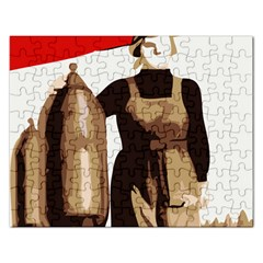 Power  to the masses Jigsaw Puzzle (Rectangular)