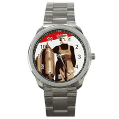 Power  to the masses Sport Metal Watch