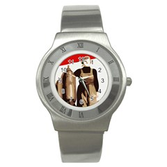 Power  To The Masses Stainless Steel Watch