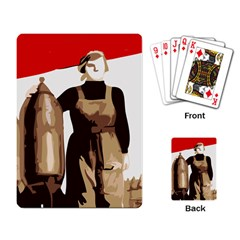Power  to the masses Playing Cards Single Design
