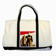 Power  to the masses Two Tone Tote Bag