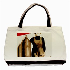 Power  to the masses Classic Tote Bag (Two Sides)