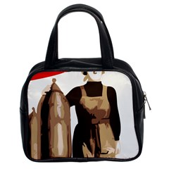 Power  To The Masses Classic Handbag (two Sides)