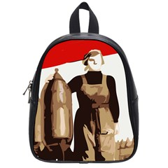Power To The Masses School Bag (Small)