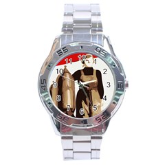 Power To The Masses Stainless Steel Watch (Men s)
