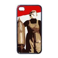 Power To The Masses Apple iPhone 4 Case (Black)