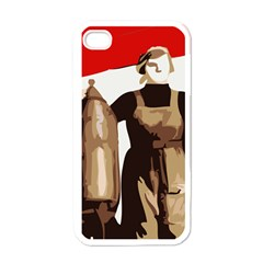 Power To The Masses Apple Iphone 4 Case (white)
