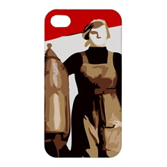 Power To The Masses Apple Iphone 4/4s Premium Hardshell Case