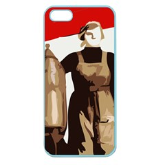 Power To The Masses Apple Seamless iPhone 5 Case (Color)