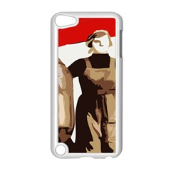 Power To The Masses Apple iPod Touch 5 Case (White)