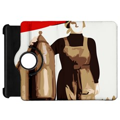 Power To The Masses Kindle Fire HD 7  Flip 360 Case