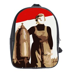 Power To The Masses School Bag (XL)