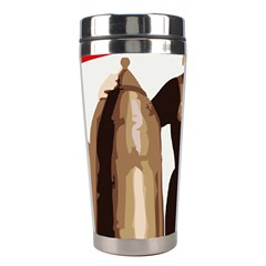 Power To The Masses Stainless Steel Travel Tumbler