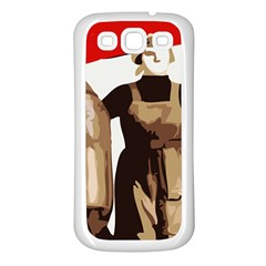 Power To The Masses Samsung Galaxy S3 Back Case (White)