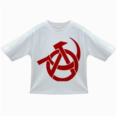 Hammer Sickle Anarchy Baby T-shirt