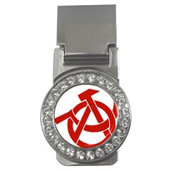 Hammer Sickle Anarchy Money Clip (CZ)