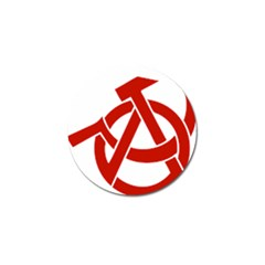 Hammer Sickle Anarchy Golf Ball Marker 10 Pack